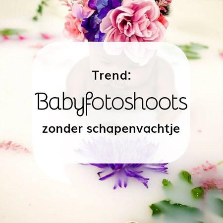 Geboortekaartjes blog Trends: Babyfotoshoots