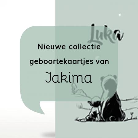 Geboortekaartjes blog Nieuwe collectie geboortekaartjes van Jakima