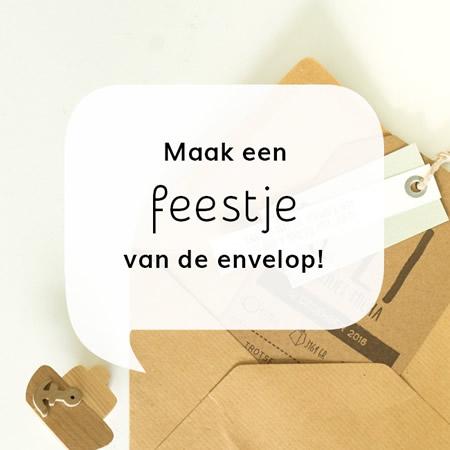 Aandacht voor de envelop