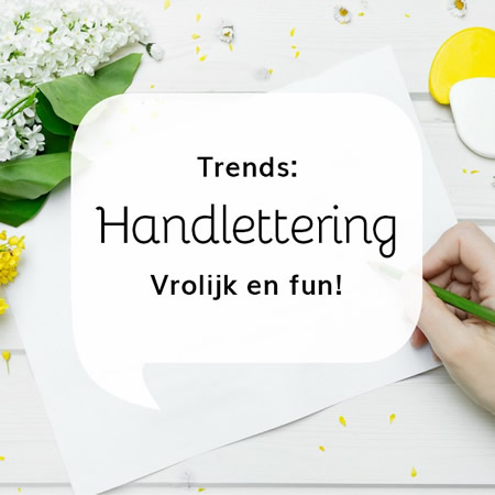 Trends: handlettering