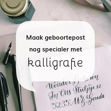 Adressen kalligraferen