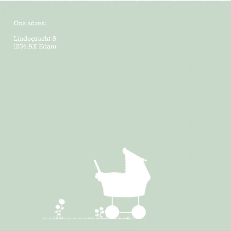 Geboortekaartje 3e kindje