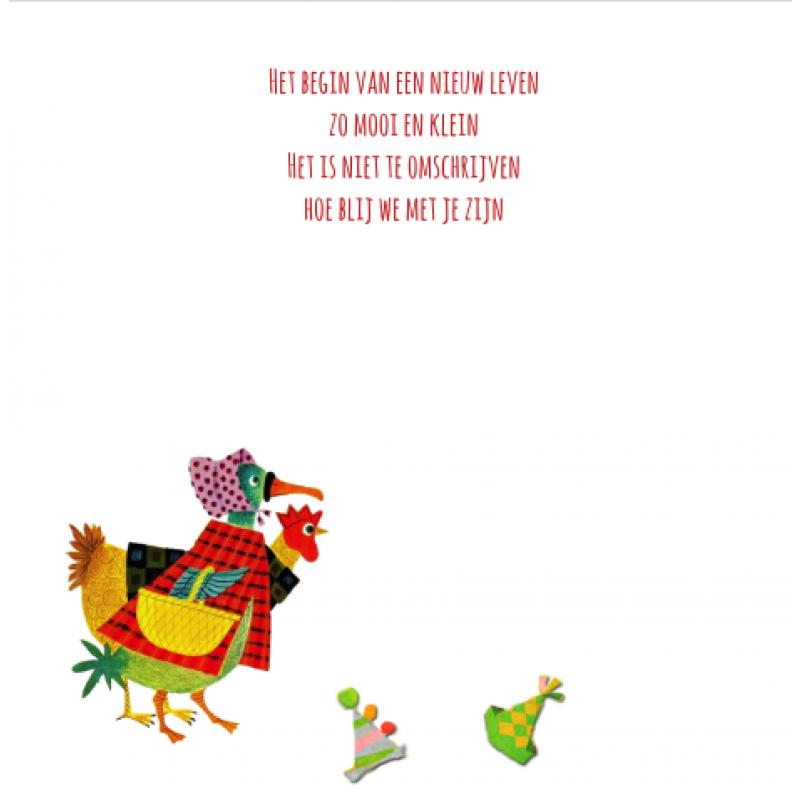 Geboortekaartje Dierenparade Kaartje