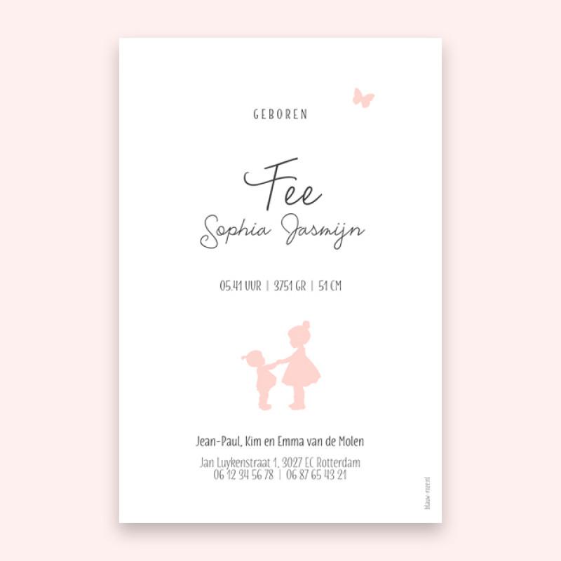 Geboortekaartje Fee