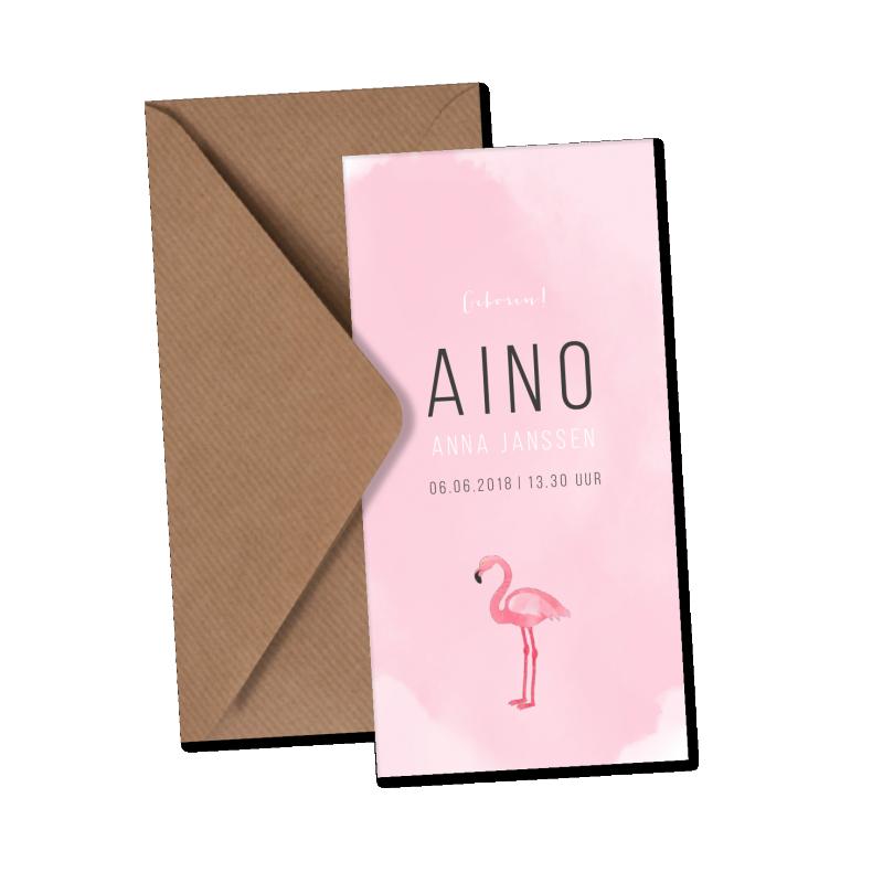 Geboortekaartje Geboortekaart - Aino