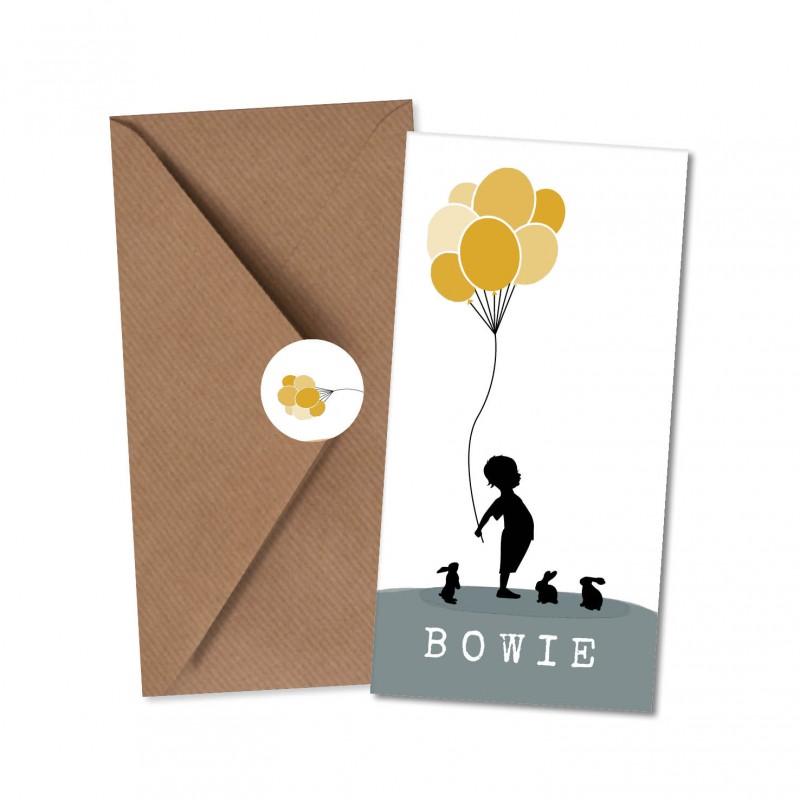 Geboortekaartje Geboortekaart - Bowie