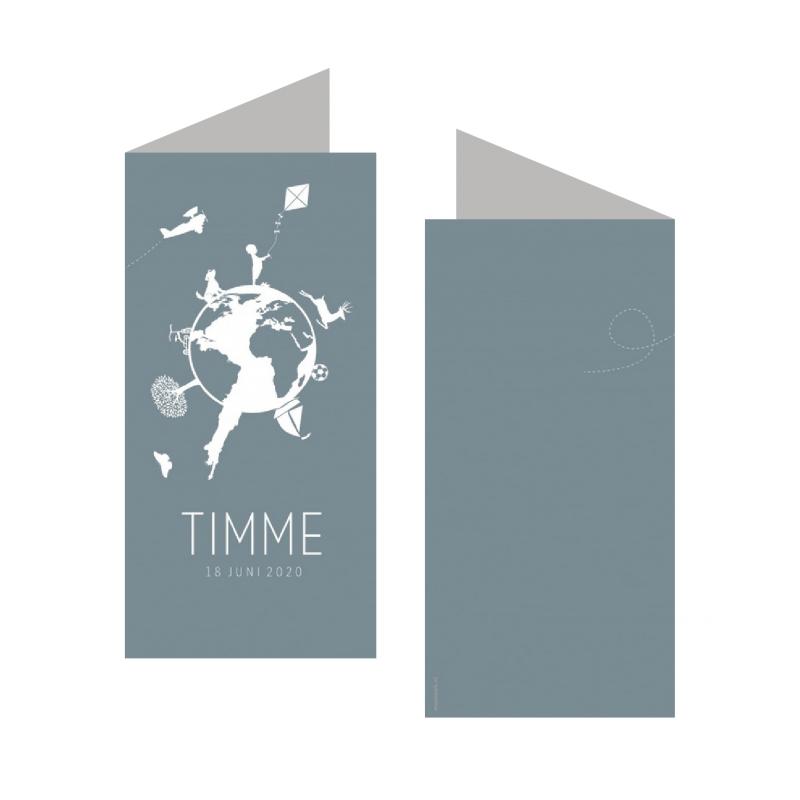 Geboortekaartje Geboortekaart - Timme