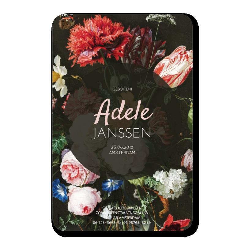 Geboortekaartje Geboortekaartje Adele