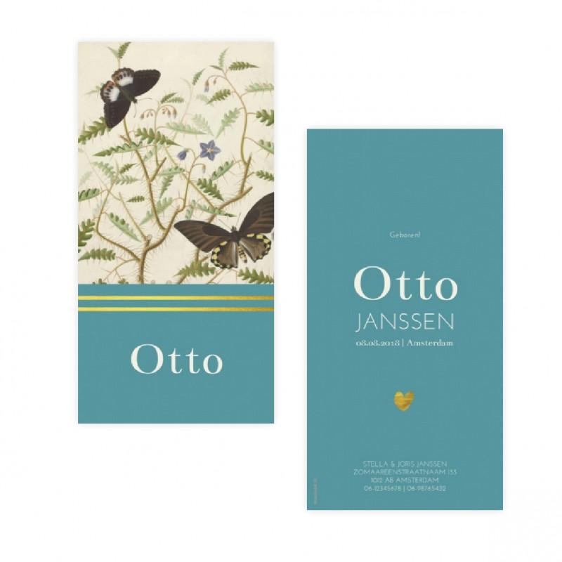 Geboortekaartje geboortekaartje Otto