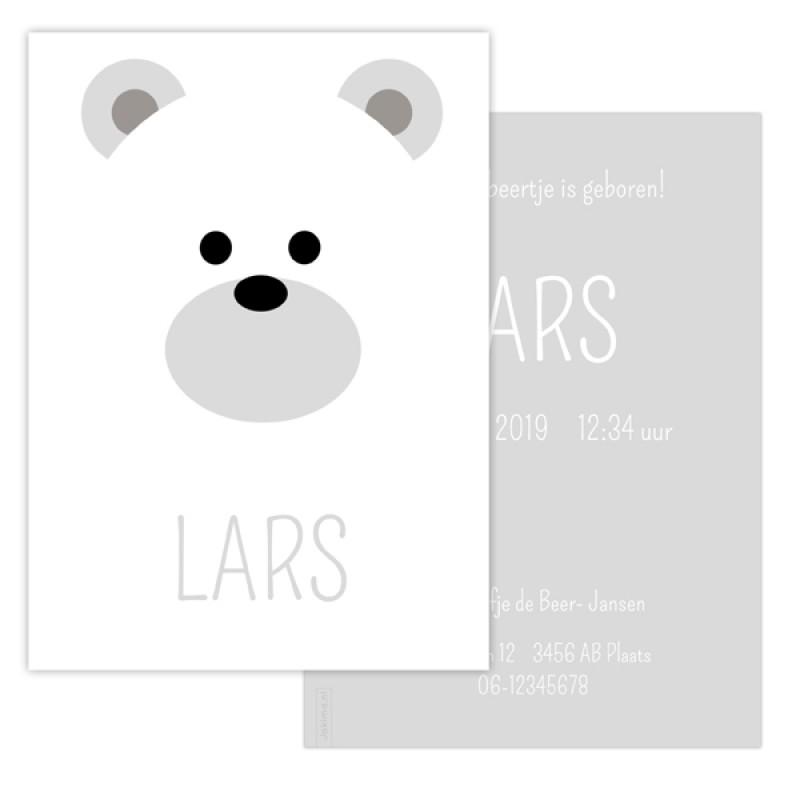 Geboortekaartje ijsbeer