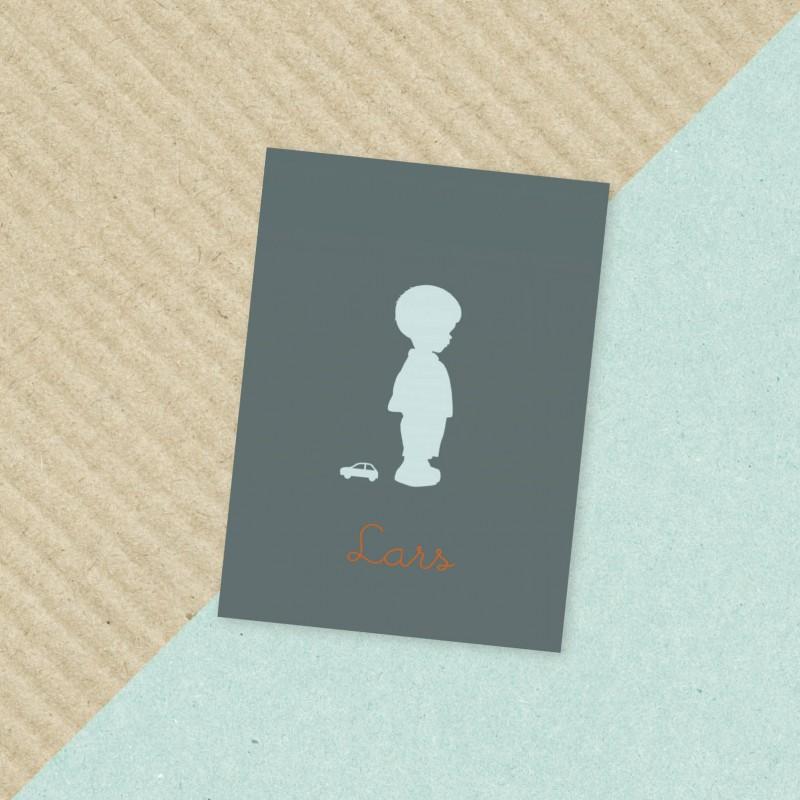 Geboortekaartje Jongetje met auto