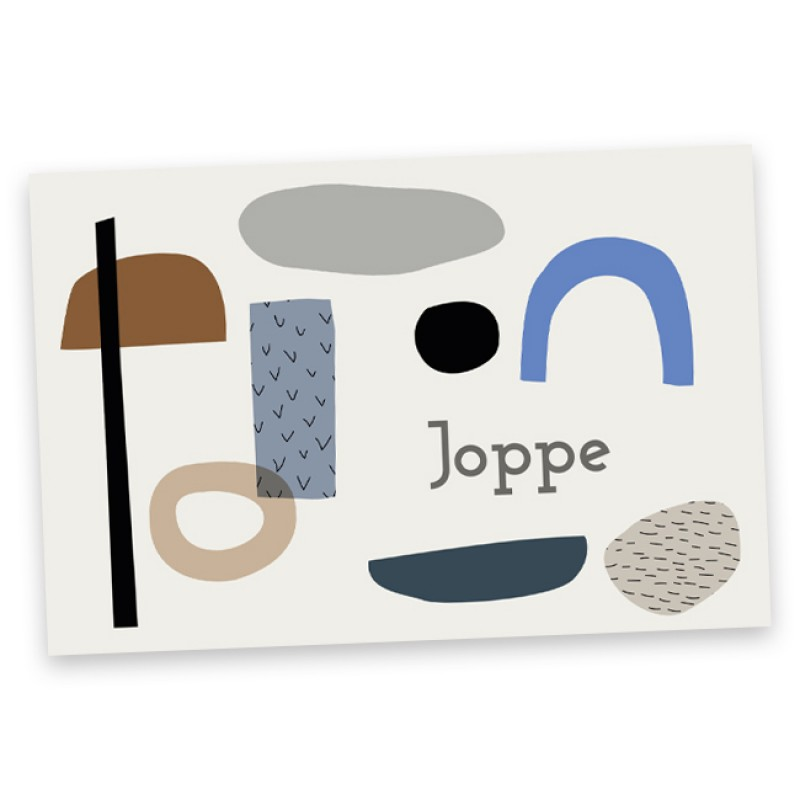 Geboortekaartje Joppe