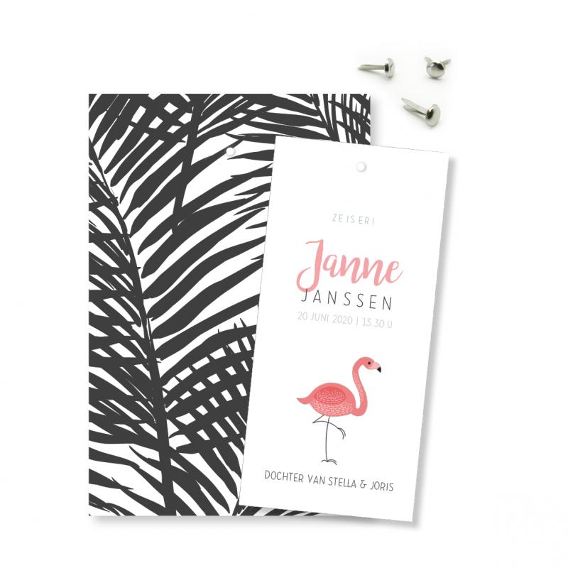 Geboortekaartje Klembord - Janne