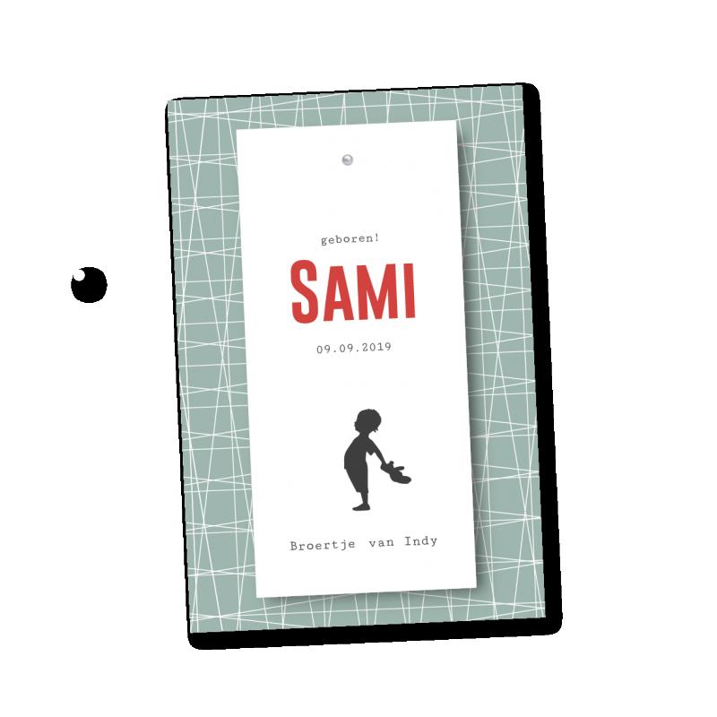 Geboortekaartje Klembord - Sami