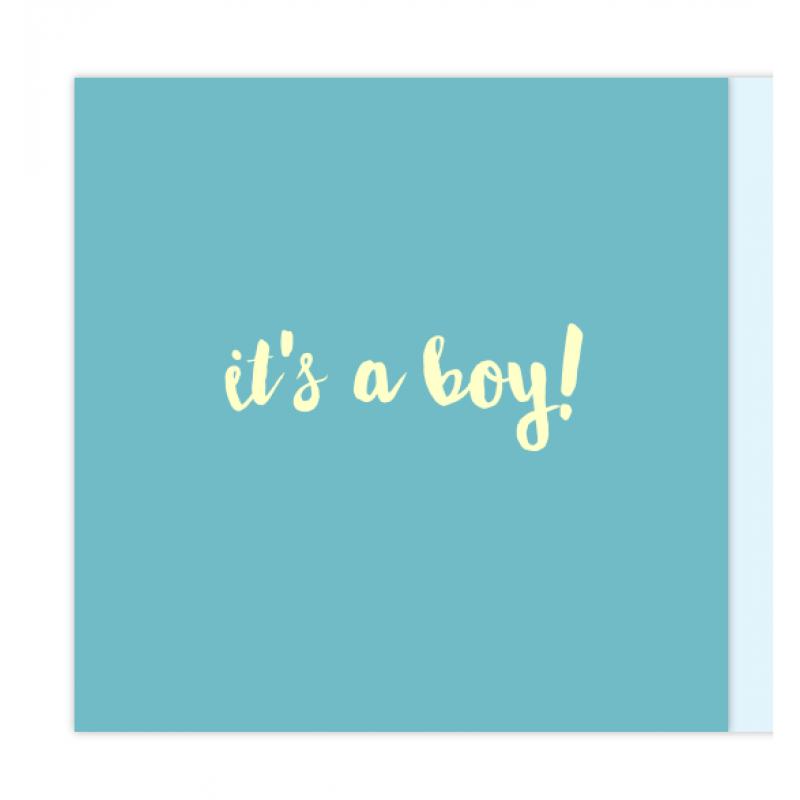 Geboortekaartje Lichtbak ster kaartje