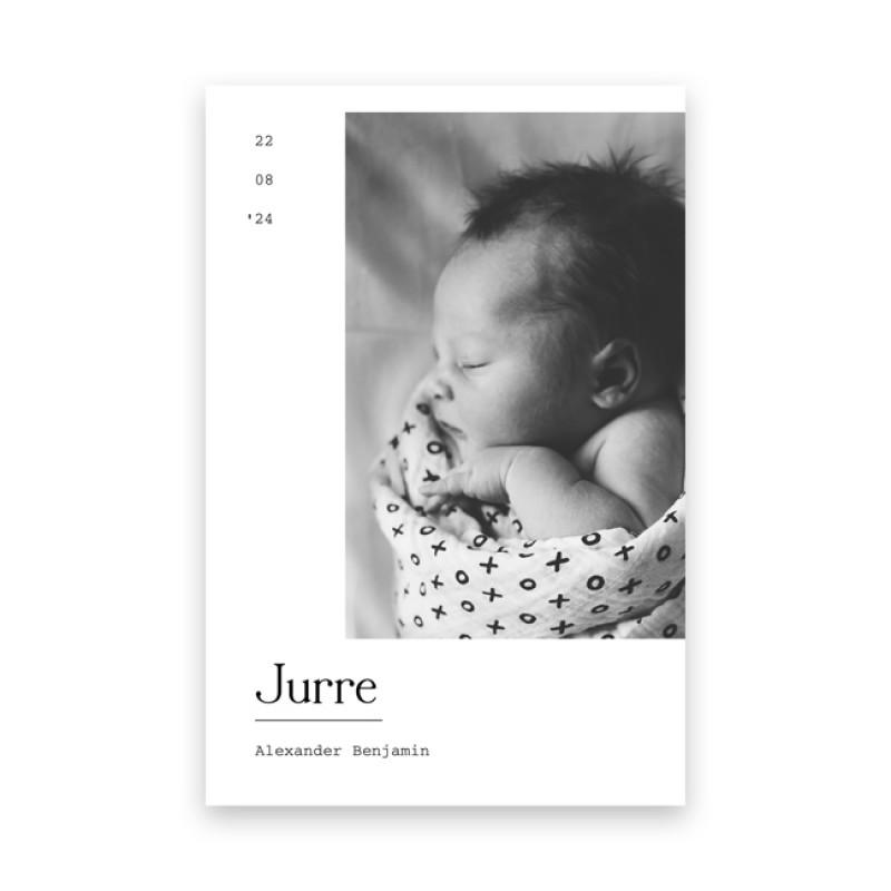 Geboortekaartje Lief foto geboortekaartje