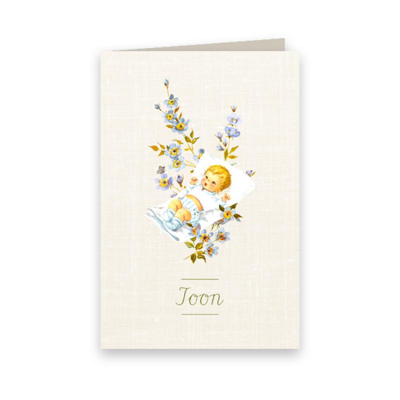 Geboortekaartje Toon