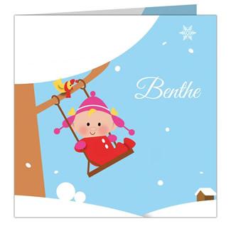 Geboortekaartje Benthe