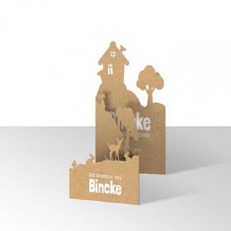 Geboortekaartje Bijzondere vorm  |  Bincke