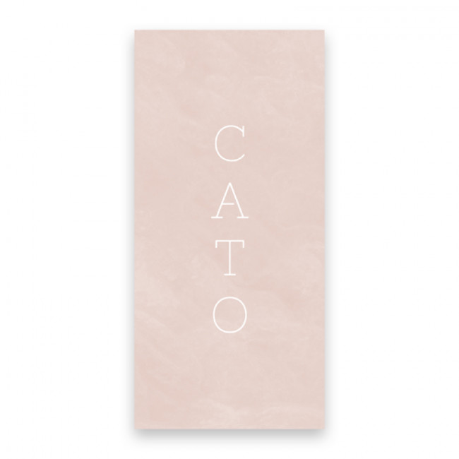 Geboortekaartje Cato
