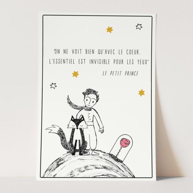 Geboortekaartje de kleine prins
