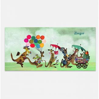 Geboortekaartje Dierenparade Kangaroo