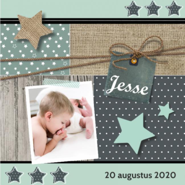Geboortekaartje Foto voor een jongen