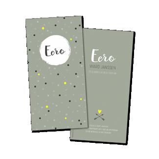 Geboortekaartje Geboortekaart - Eero