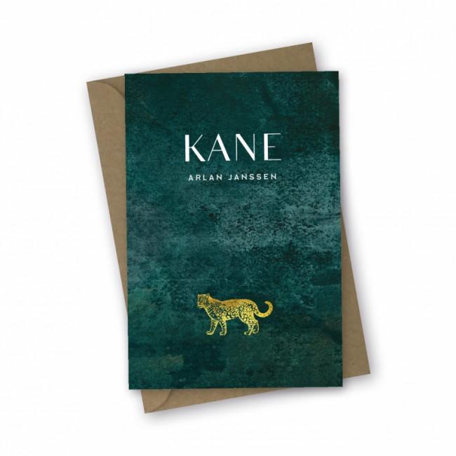 Geboortekaartje Geboortekaart jaguar Kane