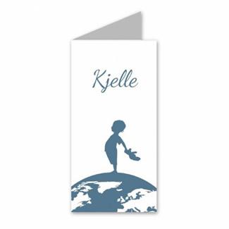 Geboortekaartje Geboortekaart - Kjelle
