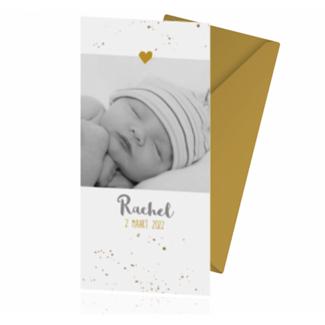 Geboortekaartje Geboortekaart met foto
