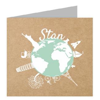 Geboortekaartje Geboortekaart - Stan
