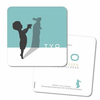 Geboortekaartje Geboortekaart - Tyo