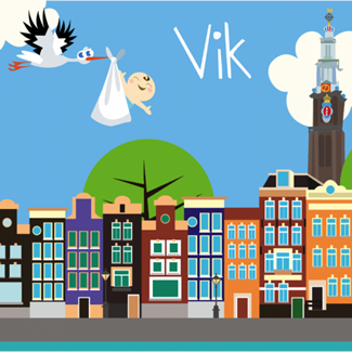 Geboortekaartje Geboortekaartje amsterdam