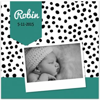 Geboortekaartje Geboortekaartje Foto