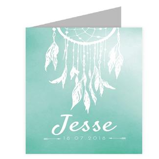 Geboortekaartje Geboortekaartje - Jesse