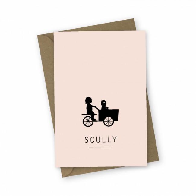 Geboortekaartje Geboortekaartje Scully