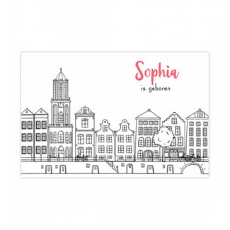 Geboortekaartje Geboortekaartje Utrecht