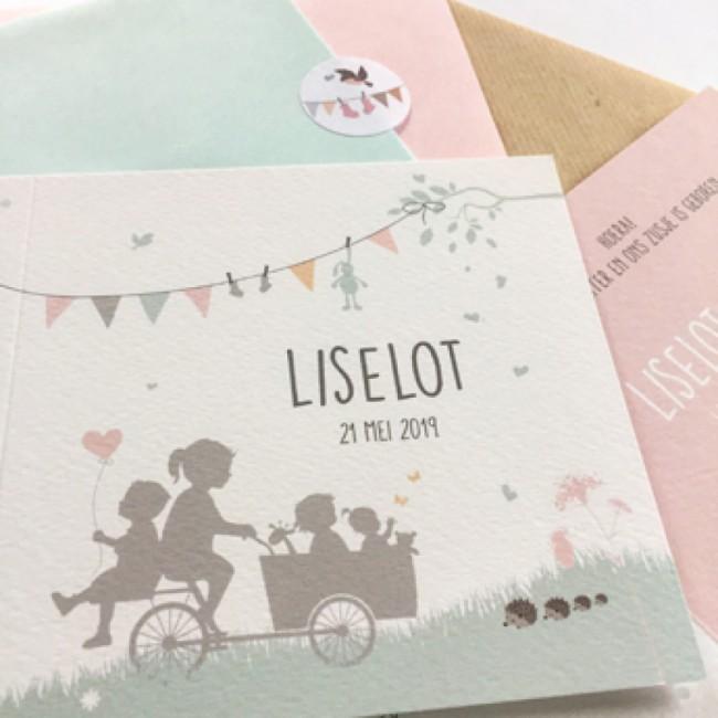 Geboortekaartje Gupje Liselot