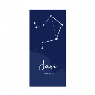Geboortekaartje Horoscoop Geboortekaartje