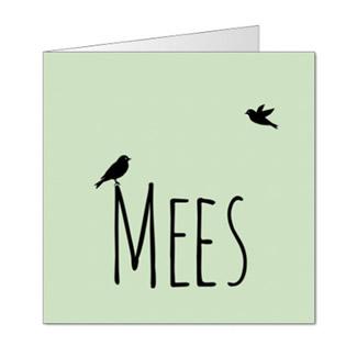 Geboortekaartje Jongensnaam met vogels