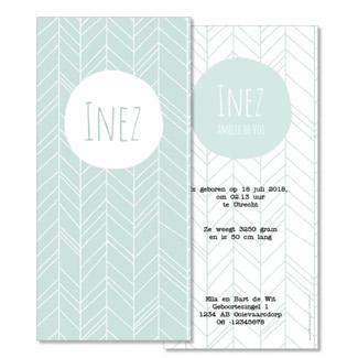 Geboortekaartje Little Dutch  |  Inez