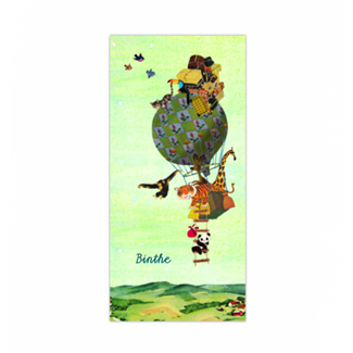 Geboortekaartje Luchtballon kaartje