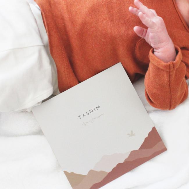 Geboortekaartje Meisjes geboortekaartje