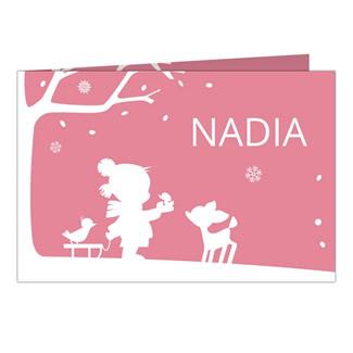 Geboortekaartje Nadia