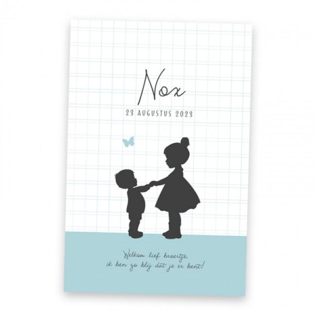 Geboortekaartje Nox