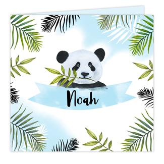 Geboortekaartje Panda Geboortekaartje
