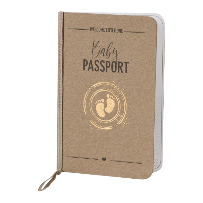 Geboortekaartje Paspoort Geboortekaartje
