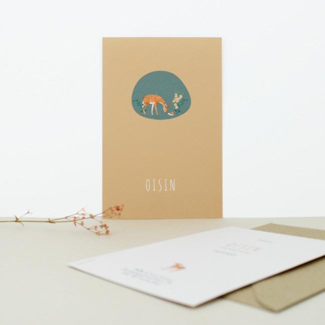 Geboortekaartje Unisex geboortekaartje