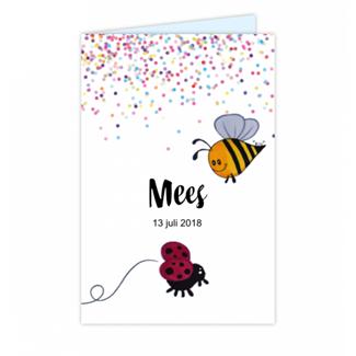Geboortekaartje Vrolijk Geboortekaartje